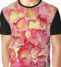 Ruby Tuesday Hydrangea Graphic T-Shirt