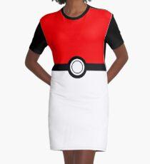 Pokeball Graphic T-Shirt Dress