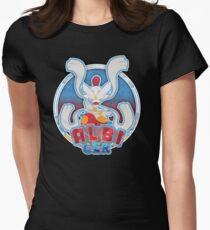 ALBI_GER logo Women's Fitted T-Shirt
