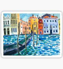 Venice - Watercolour Sticker