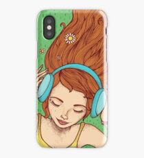 Summer, music and relax iPhone Case