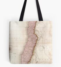 Vintage Map of Chile (1818) Tote Bag