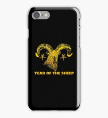 Chinese New Year of The Sheep Goat Ram iPhone Case/Skin