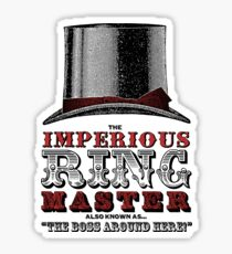 Imperious Ring Master Sticker