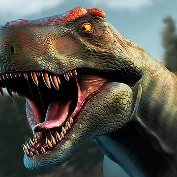 Tyrannosaurus Head Study Version II by magarlick
