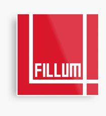 I Love Irish Movies - Fillum 4 Metal Print