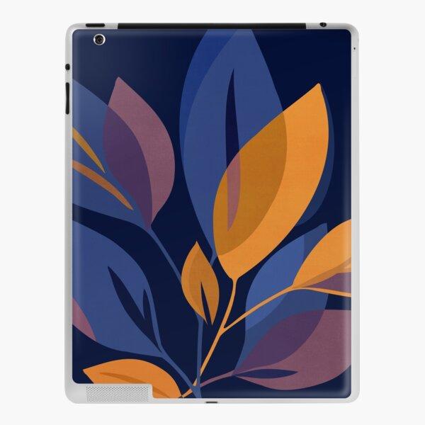 Scorpio Dark Abstract Floral iPad Skin
