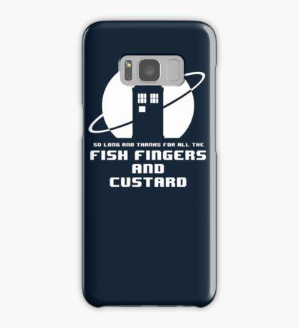 Fish Fingers and Custard Samsung Galaxy Case/Skin