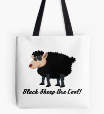 Chinese New Year Black Sheep Are Cool Tote Bag