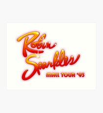 HIMYM - Robin Sparkles Mall Tour '93 Kunstdruck