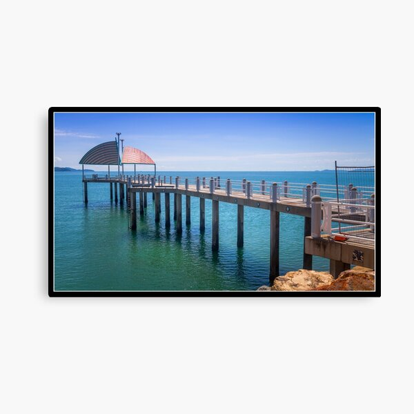 Pier on the Strand Canvas Print