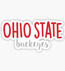 Ohio State University Sticker
