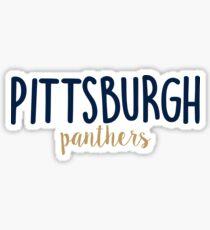 University of Pittsburgh Sticker