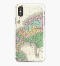 Vintage Map of Mexico (1827) iPhone Case