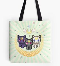 Sailor Cats - Green Tote Bag