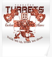Turret T-shirt Poster