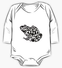 Tribal Frog One Piece - Long Sleeve