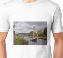 Sailing on the Crinan Unisex T-Shirt