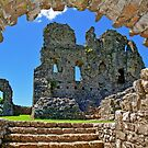 Ogmore Castle, a 12th century Norman Castle in Wales by Remo Kurka
