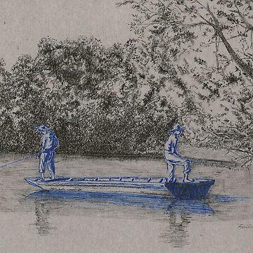 Muchachos azules, pesca de neto147