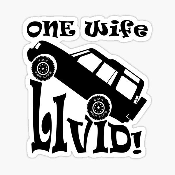 One Life Live It (Parody) Sticker