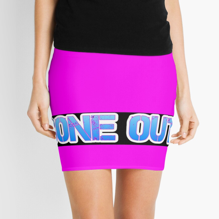 HOT PINK COLLECTION BONE OUT!  Get inspired to live! Mini Skirt