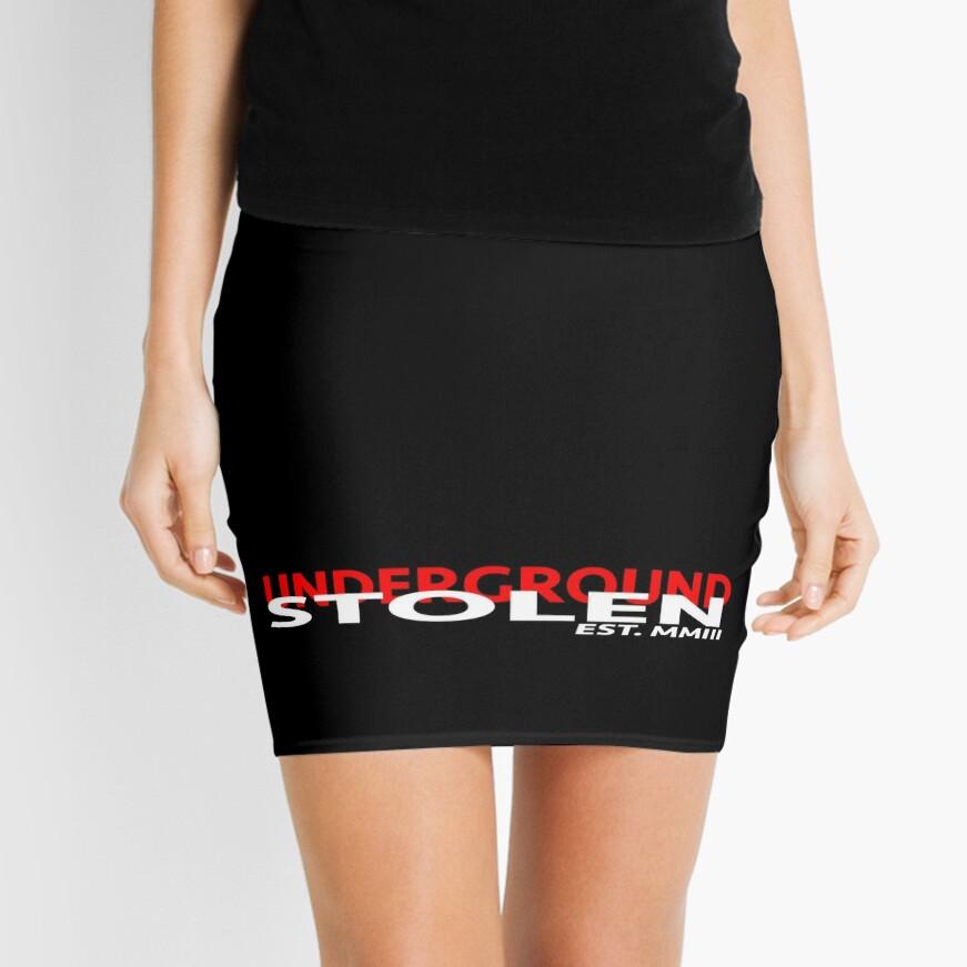 STOLEN UNDERGROUND CLASSIC LOGO Mini Skirt