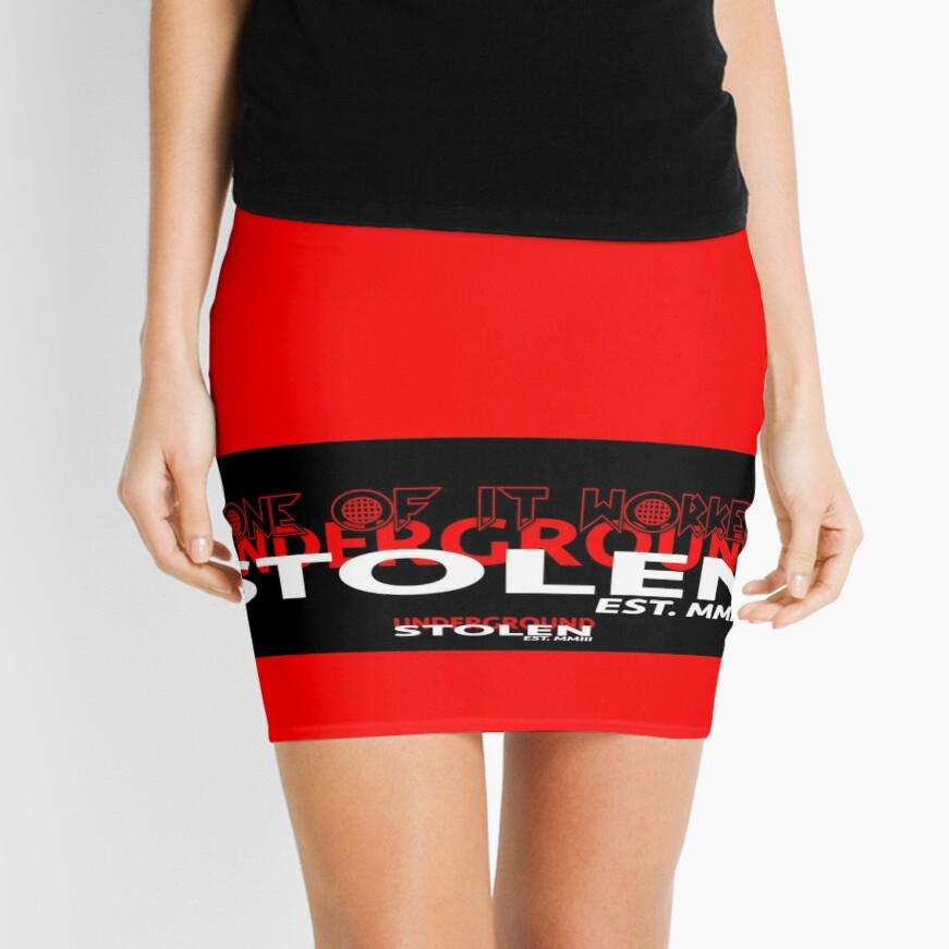 RED COLLECTION NONE OF IT WORKED! Mini Skirt