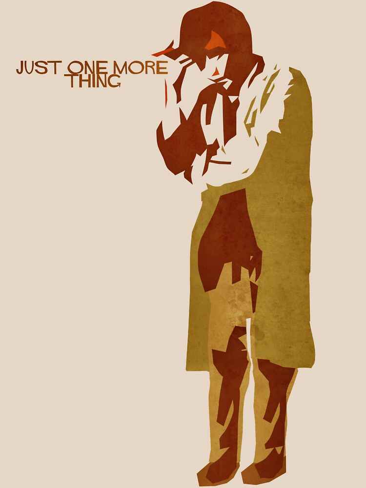 TShirtGifter presents: Columbo - Just One More Thing | Unisex T-Shirt
