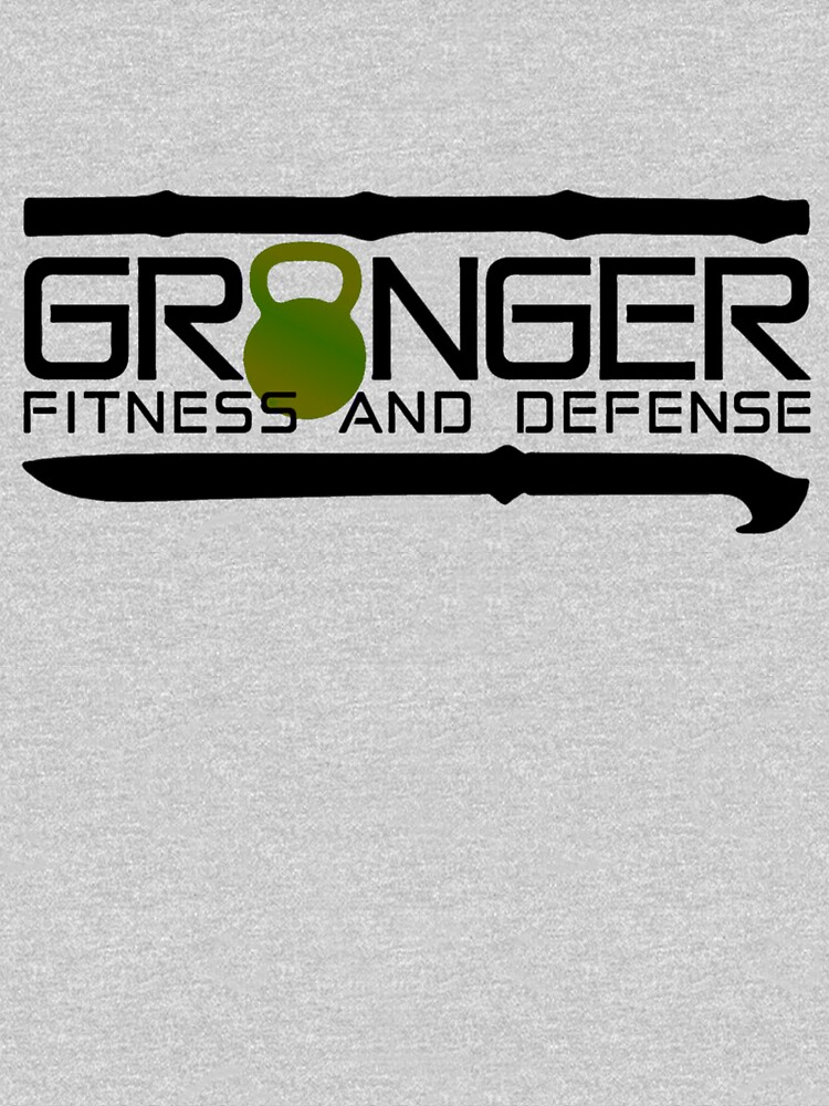 Green Full Logo for Granger Fitness and Defense  by johngranger