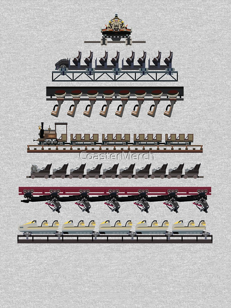 Phantasialand Coaster Trains Design by CoasterMerch