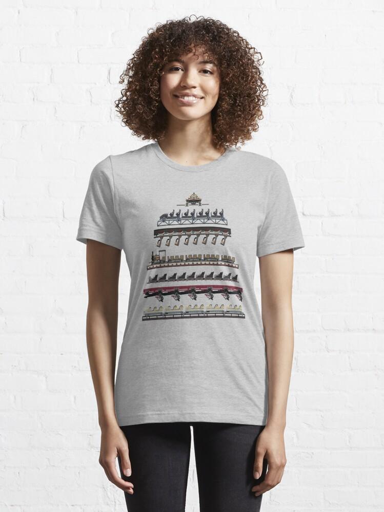 Alternate view of Phantasialand Coaster Trains Design Essential T-Shirt