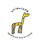 Geoffrey the Giraffe by jackfords