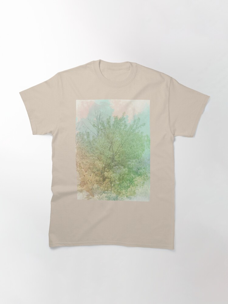 Alternate view of Pastel Spring - Dreamy Crab Apple Tree  Classic T-Shirt
