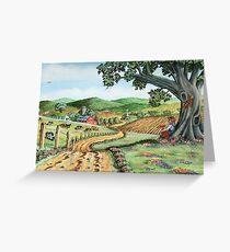 My Farm...(on craft foam) Greeting Card