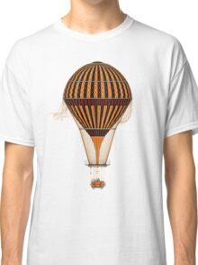 Elegant Steampunk Vintage Hot Air Balloon Classic T-Shirt