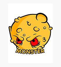 Monster Vector Photographic Print