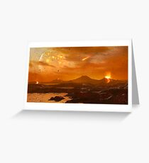 Primordial Earth Version III Greeting Card