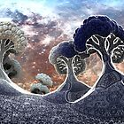 Broccoli Planet in Winter by Dr-Pen