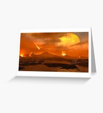 Primordial Earth Version IV Greeting Card