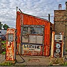Abandoned Old Petrol Filling Station, Wales by Remo Kurka