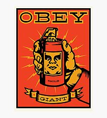 Obey Giant Photographic Print