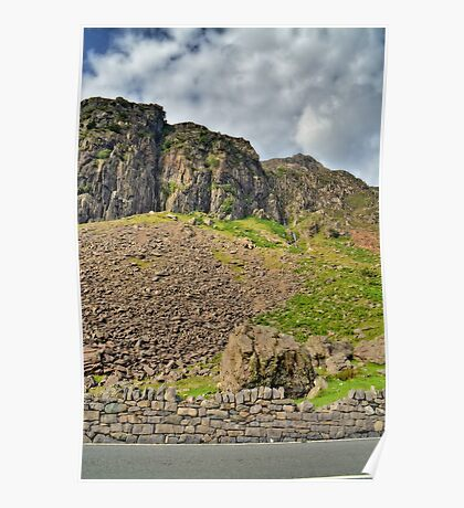 Snowdonia Mountains, Wales Poster