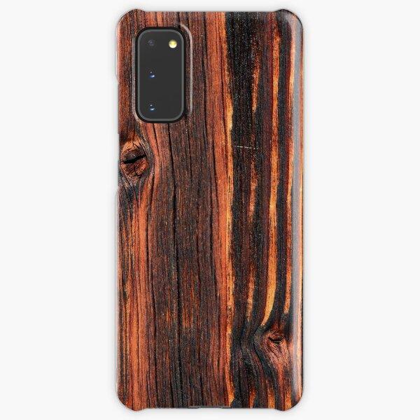 Wood texture Samsung Galaxy Snap Case