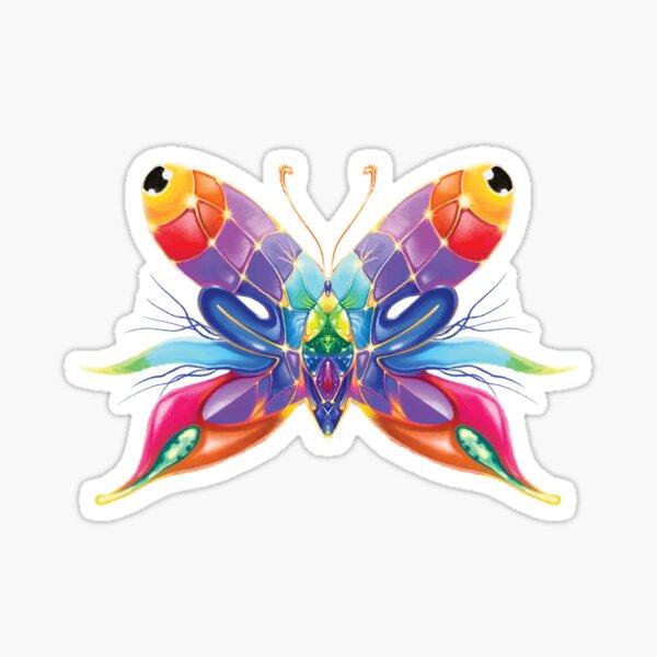 Surreal Butterfleye Sticker