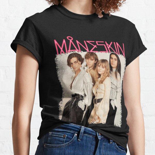 Oeuvre de crinière T-shirt classique