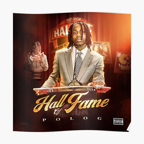 POLO G - Hall of Fame (Album Cover)  Poster