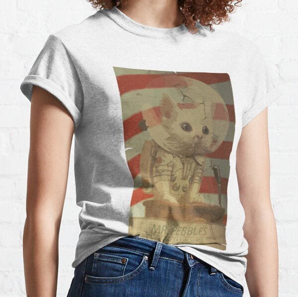 Mr. Pebbles - The first cat in space Classic T-Shirt