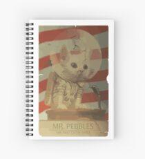 Mr. Pebbles - Die erste Katze im Weltraum Spiralblock