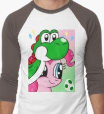 Yoshi and Pinkie Men's Baseball ¾ T-Shirt